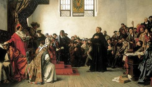 Martin Luther at the Diet of Worms