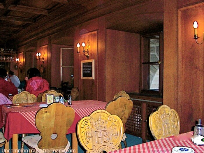 Eagle's Nest dining room in 2008