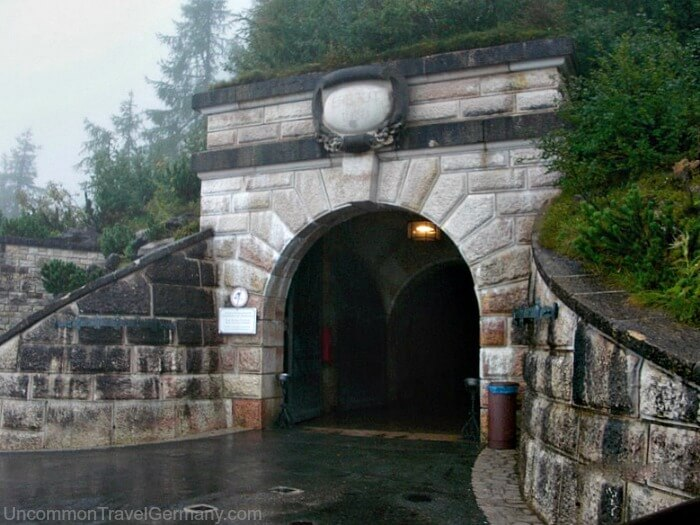 Entrance to tunnel leading to Eagle's Nest