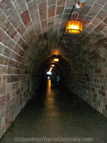 Tunnel to Eagle's Nest Elevator