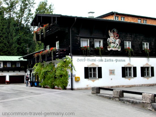 The Hotel zum Turken on the Obersalzberg