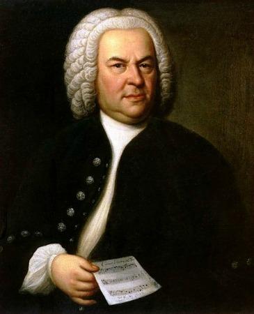 Portrait of Johann Sebastian Bach, 1746