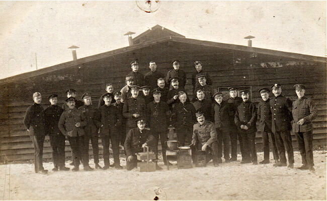 Lager Hammelburg POW's in World War I, group photo