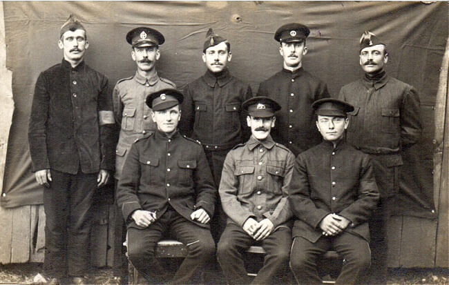Lager Hammelburg World War I POW group photo