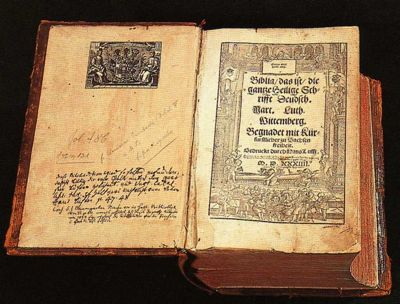 Martin Luther's Bible