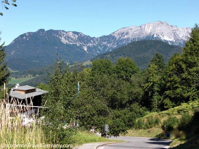 View of Untersberg Mountain on the Obersalzberg, near Berchtesgaden