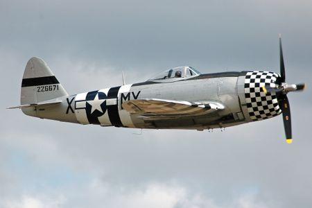 P47 Thunderbolt, WW2 fighter plane