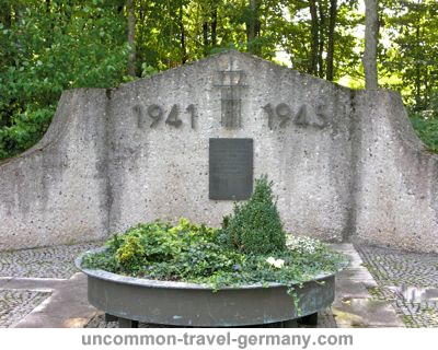 Memorial for the dead of WW2 at Lager Hammelburg