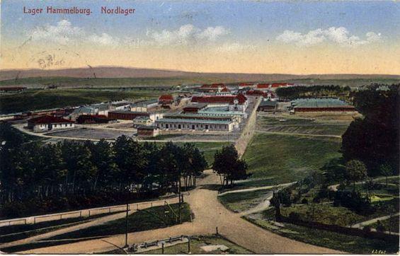 Lager Hammelburg postcard, Stalag 13,  in 1916