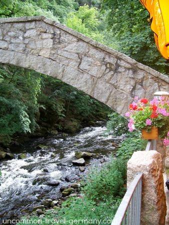 Jungfernbrücke, Königsruhe, Bode Valley, Thale, Germany