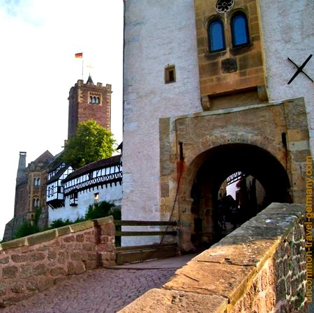 Main entrance to Wartburg Castle