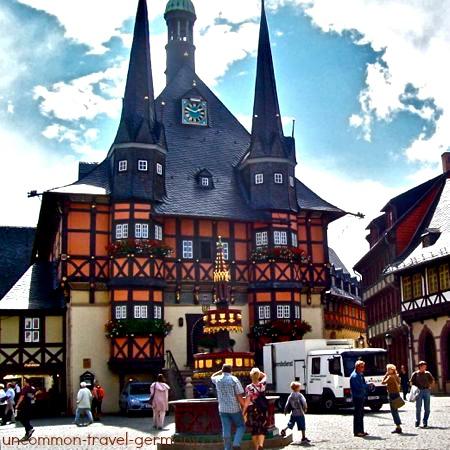 Wernigerode Rathaus, Harz Mountains