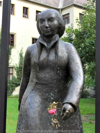 Statue of Martin Luther's Wife, Katharina von Bora, Wittenberg Germany