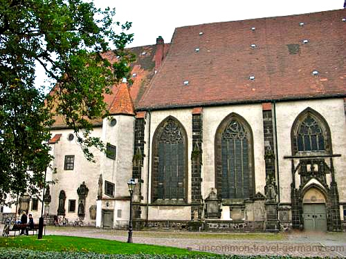 The Town Church, or Stadtkirche, Wittenberg Germany